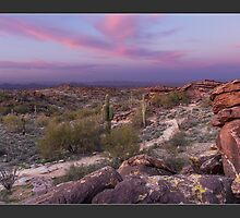 South Mountain Sunset by KeithBanse