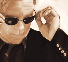 Horatio Caine / David Caruso Duotone by Richard Eijkenbroek