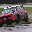 Liam Doran tests the Prodrive WRC Mini airborne by motapics