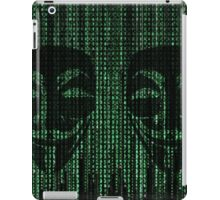 Anonymous Coding  iPad Case/Skin