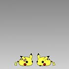 Duo Pikachus by RubyTruffles