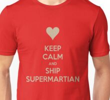 Keep Calm and Ship SuperMartian Tee Unisex T-Shirt