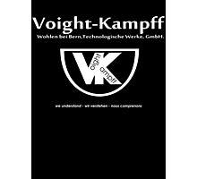 Voight Kampff - VK - Offworld Colonies Photographic Print