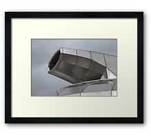 Sheffield HUBs HDR Abstract Framed Print