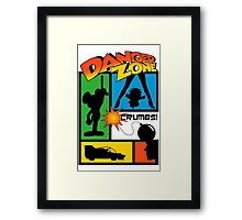 Wherever There Is Danger  Framed Print