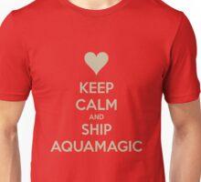 Keep Calm and Ship AquaMagic Tee Unisex T-Shirt