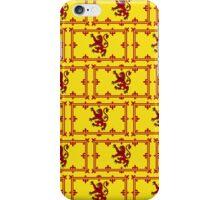 Smartphone Case - Flag of Scotland (royal standard) - Patchwork iPhone Case/Skin