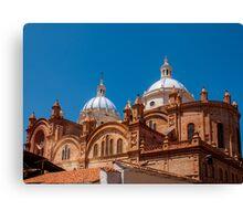 Catedral de la Inmaculada Concepción, Cuenca, Ecuador Canvas Print