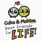 Cuke & Pickles: best friends for LIFE--FOODIES by WeMakeStuff