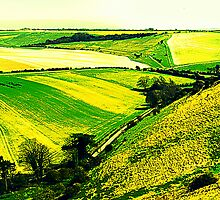 Downland Abstract by mikebov