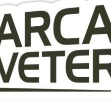 Arcade Veteran Sticker