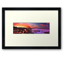 Time and tide Framed Print
