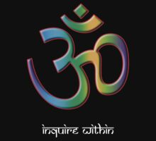 OM - Inquire Within Baby Tee