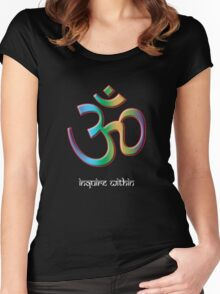 OM - Inquire Within Women's Fitted Scoop T-Shirt