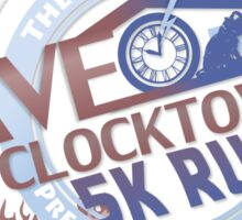 Save the Clocktower 5k Run Sticker