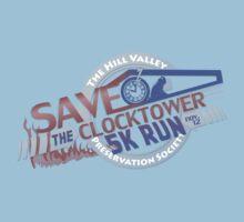 Save the Clocktower 5k Run One Piece - Short Sleeve