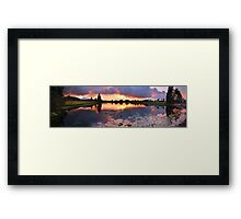 Living with nature Framed Print
