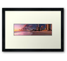 Wish you were there Framed Print