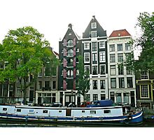 Living in Amsterdam Photographic Print