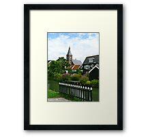 Lovely Garden View Framed Print