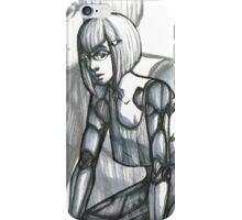 She Ran in Shadows iPhone Case/Skin