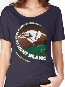Tour du Mont Blanc Women's Relaxed Fit T-Shirt