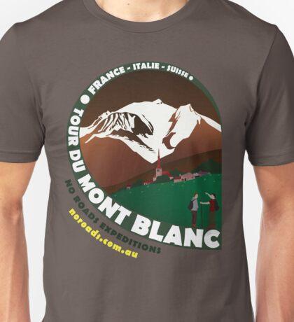 Tour du Mont Blanc Unisex T-Shirt