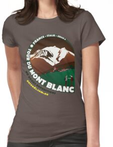Tour du Mont Blanc Womens Fitted T-Shirt