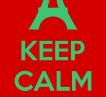Keep Calm And Love Paris Sticker
