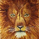 Lion Portrait by Maddy Storm