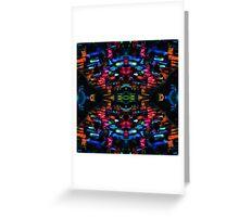 Alien Language 6 Greeting Card