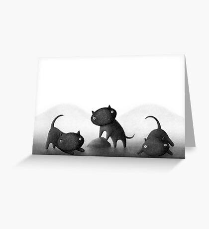 Mogs 3 Greeting Card