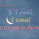 I Would Fly You to the Moon - Happy Anniversary by DesignsbyApril