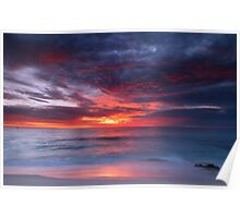 Cottesloe Sunset Poster