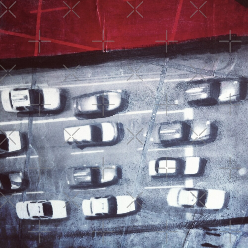 cars from above by Vin  Zzep