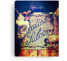 Ladies Salon Canvas Print