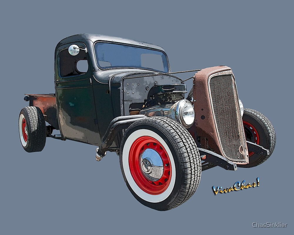 1936 Rat Rod Chevy Pickup by ChasSinklier