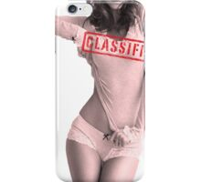 Classified - Cloudy Cali iPhone Case/Skin