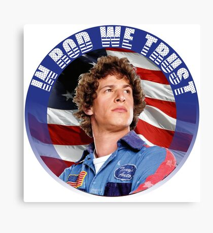 IN ROD WE TRUST Canvas Print