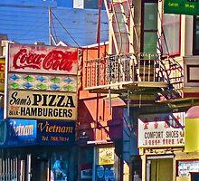 Sam's Pizza by David Denny