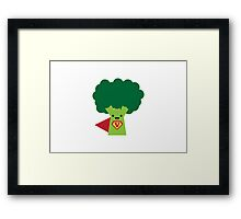 Super Broccoli Framed Print