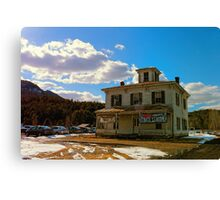 Cool Old Building Canvas Print