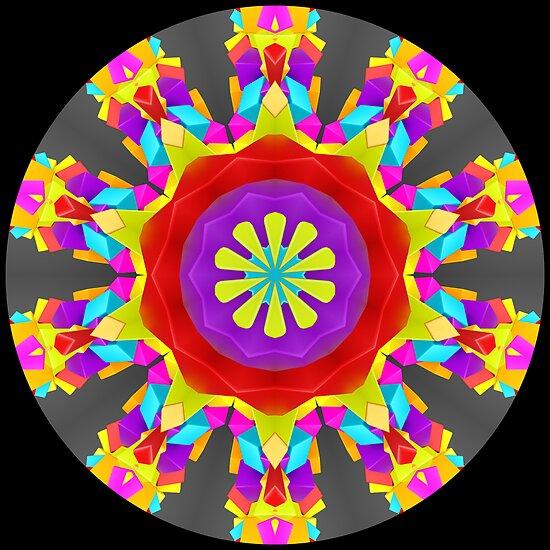 Cubes into a Kaleidoscope 02 by fantasytripp