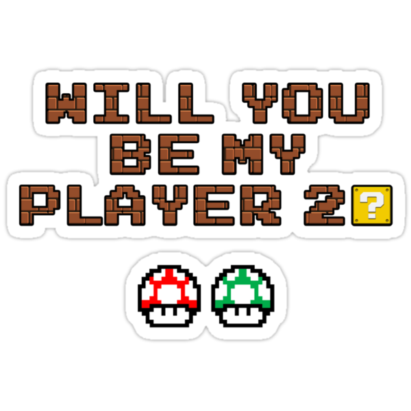 Will you be my player 2? by SamTu