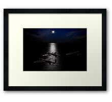 Dambusters North Sea crossing Framed Print
