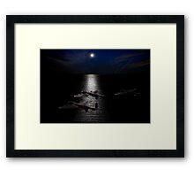 Dambusters North Sea crossing Framed Print