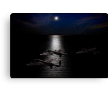 Dambusters North Sea crossing Canvas Print