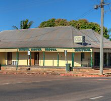 Central Hotel, Normanton, Queensland by Adrian Paul
