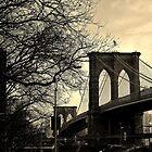 Brooklyn Bridge, New York City - by Kirsty Drummond by kdrummondphotos