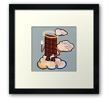 May Chocolate god bless you! Framed Print